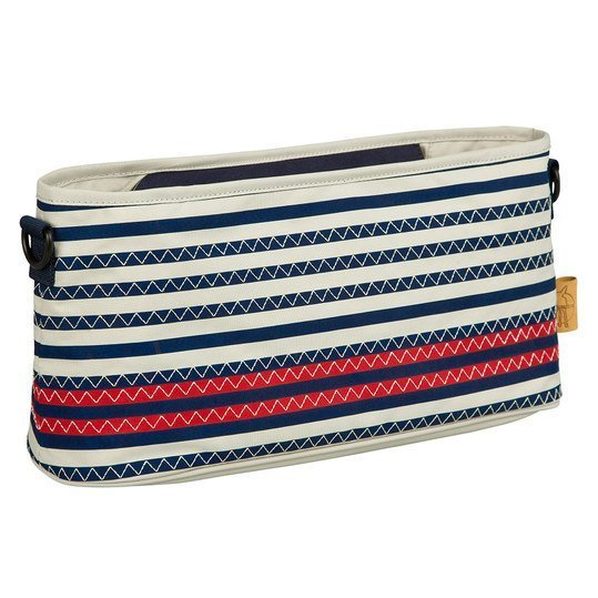 Buggy-Organizer - Striped Zigzag - Navy