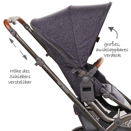 ABC Design - Sibling carriage & twin stroller Zoom Air