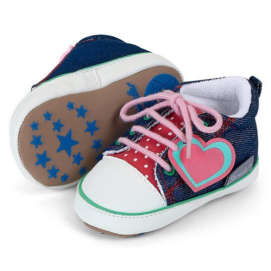 Turnschuh - Jeans Girl - Marine - Gr. 15/16