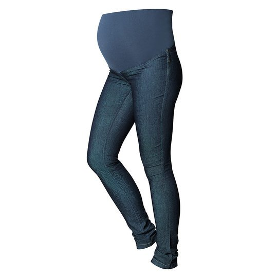 Treggings Jeans Optik Gr. L - Blau