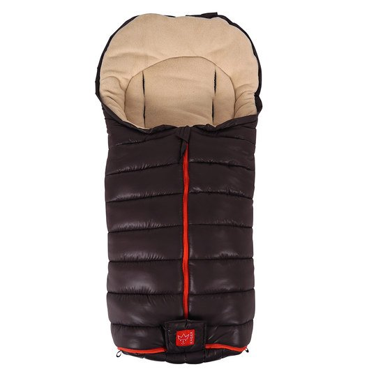 Thermo-Fleece Fußsack Finn - Braun