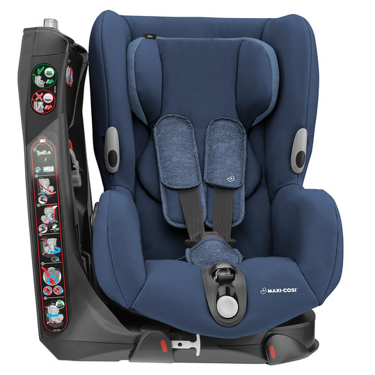 Axiss child seat - Nomad Blue