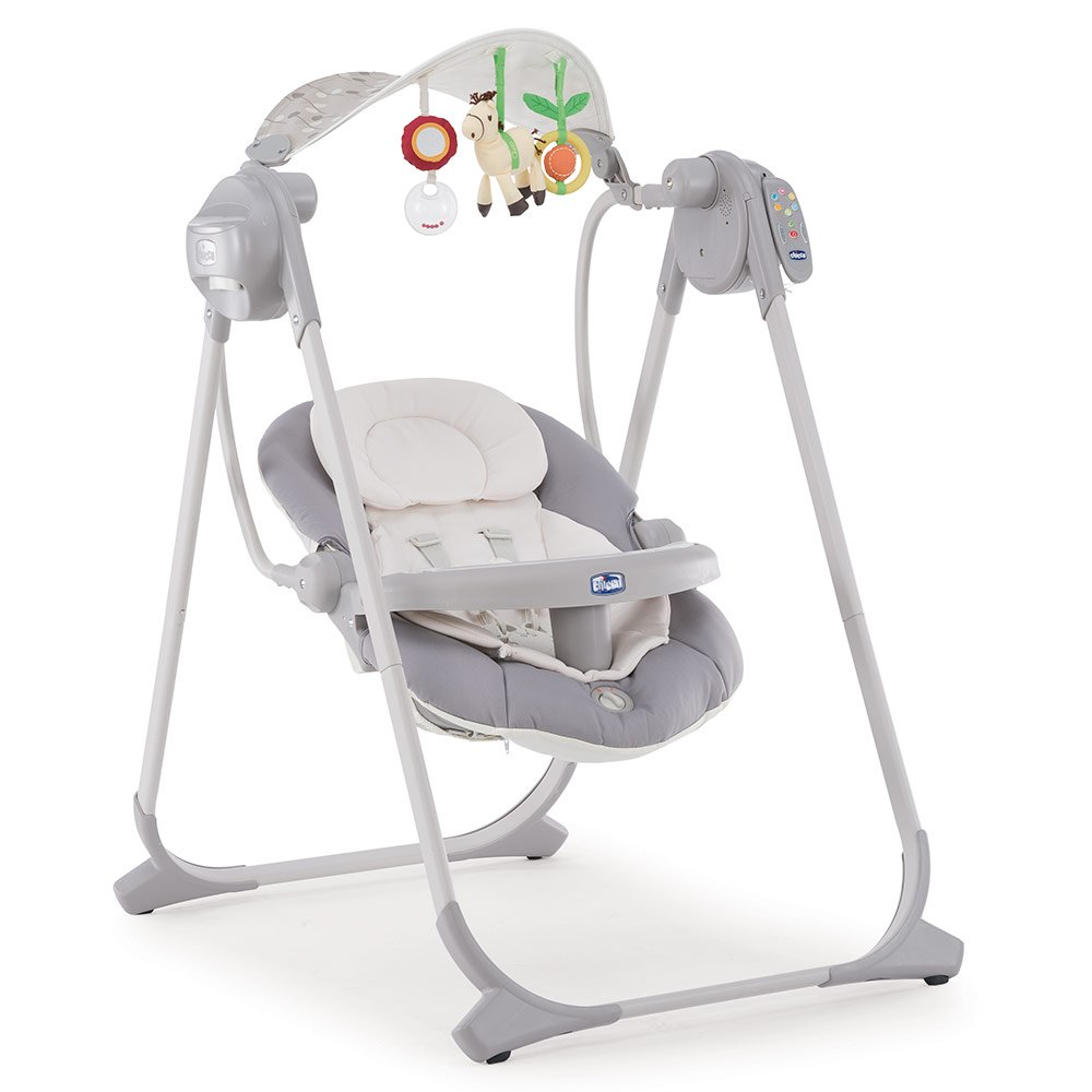 Chicco - Babyschaukel Polly Swing Up - Silver - Babyartikel.de