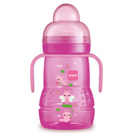 Drinking bottle Trainer+ 220 ml - Pink