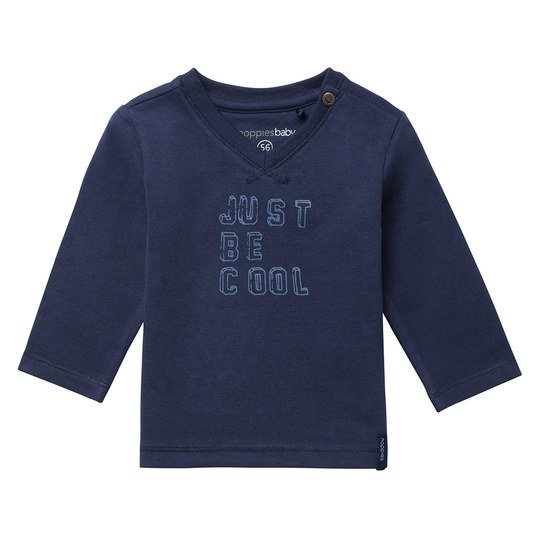 Langarmshirt Cushing - Just Be Cool Navy - Gr. 68