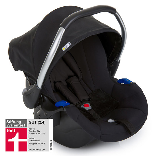 Babyschale Comfort Fix - Black