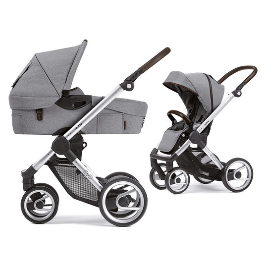 mutsy kombi kinderwagen evo gestell silber farmer mist. Black Bedroom Furniture Sets. Home Design Ideas