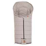 Sommer-Fußsack Melly -Light Grey Melange