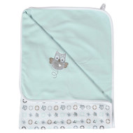 Reversible blanket 75 x 100 cm - Owl Family