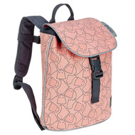 Rucksack Mini Duffle Backpack - Little Spookies - Peach