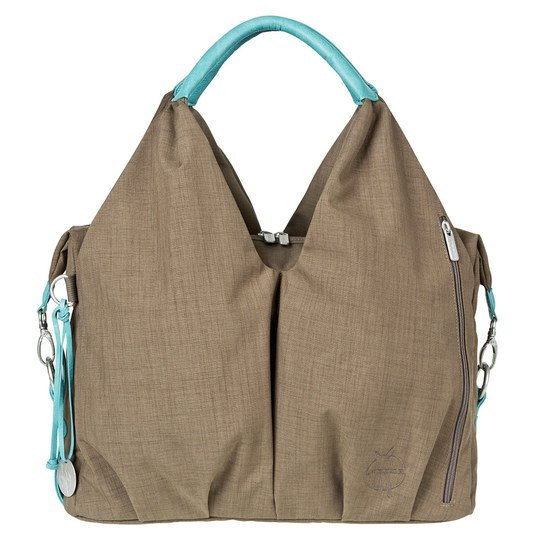 Wickeltasche Green Label Neckline Bag - Solid Taupe