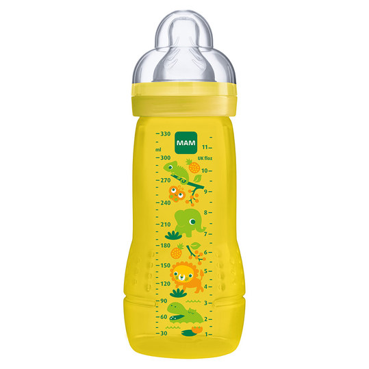 PP-Flasche Easy Active Baby Bottle 330 ml - Silikon Gr. 2