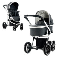 Kombi-Kinderwagen City Line Cool - Stone Fishbone