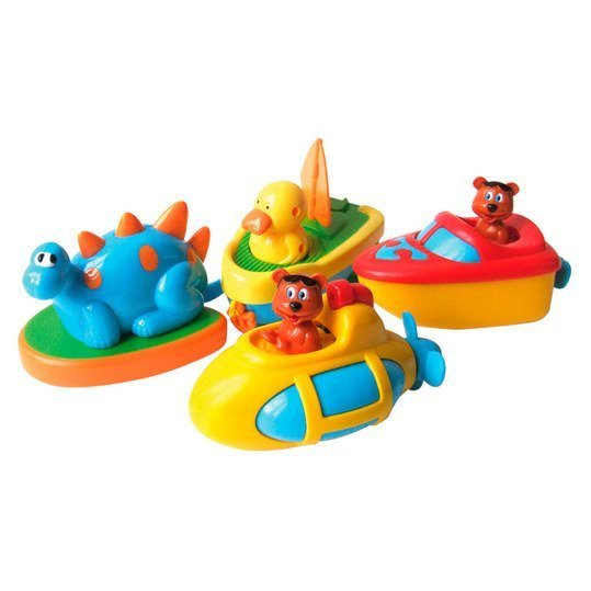 Bath toys to pull up - different designs