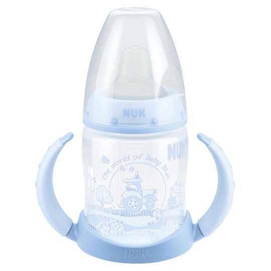 PP-Trinklernflasche First Choice 150 ml TPE-Trinktülle - Baby Blue