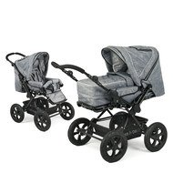 Kombi-Kinderwagen Viva - Jeans Blue