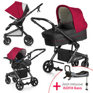 Kinderwagen-Set Atlantic Plus Trio Set inkl. Isofix Basis - Tango