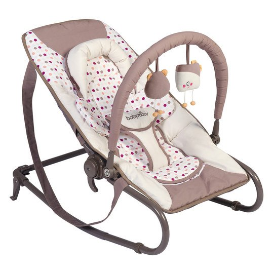 Babywippe Transat Bubble - Pink Taupe