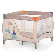 Reisebett & Laufgitter Sleep n Play SQ - 90 x 90 cm - Animals