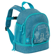 Rucksack Mini Backpack - About Friends - Melange Blue