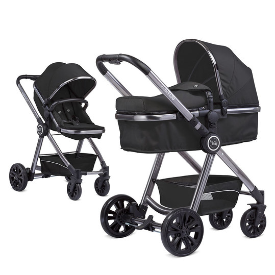 knorr baby kombi kinderwagen for you schwarz spacegrey. Black Bedroom Furniture Sets. Home Design Ideas