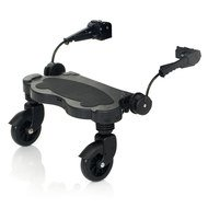 Running board for pram / buggy board Kiddie Ride On - Black