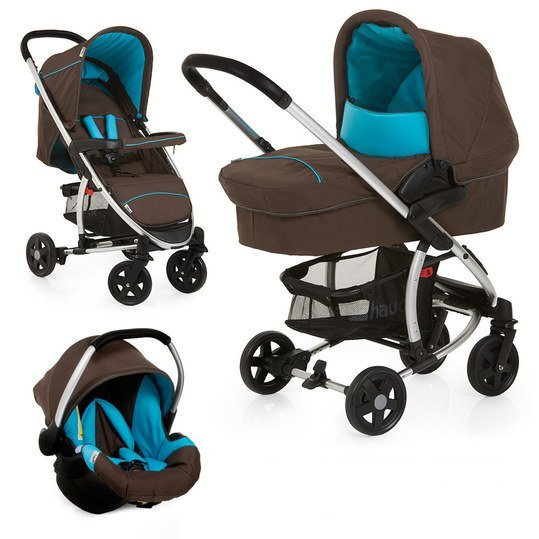Kinderwagen-Set Miami 4 Trio Set - Coffee Capri