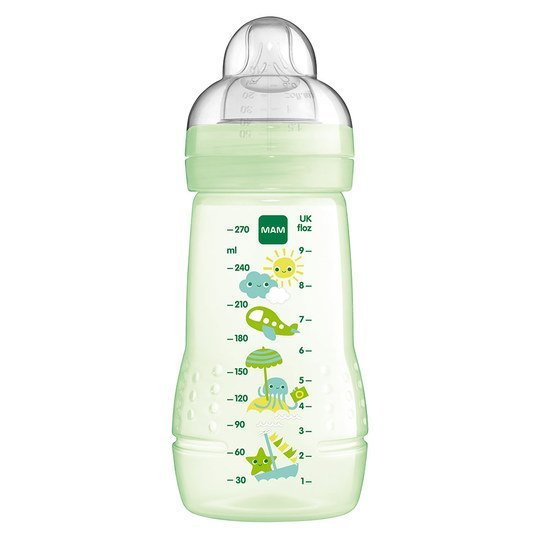 PP-Flasche Easy Active Baby Bottle 270 ml - Silikon Gr. 1