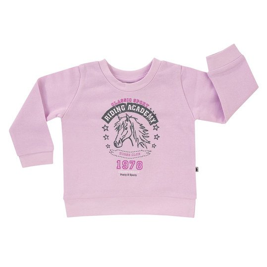 Sweatshirt Basic Line - Girls - Rosa - Gr. 68