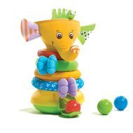 Stapelspiel Musical Stack & Ball Game - Elefant