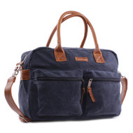 Wickeltasche Vision of Love Canvas - Jeansblau