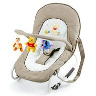 Babywippe Bungee Deluxe - Pooh Doodle Brown