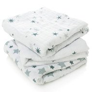 Mullwindel 3er Pack Classic Musy 70 x 70 cm - Twinkle
