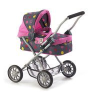 Puppenwagen Smarty - Funny Pink