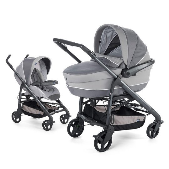 Kombi-Kinderwagen Duo Love Motion - Elegance