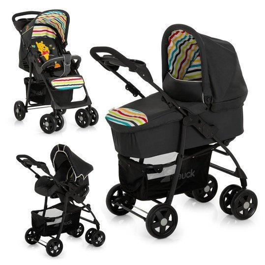 hauck kinderwagen set shopper trio set winnie pooh. Black Bedroom Furniture Sets. Home Design Ideas