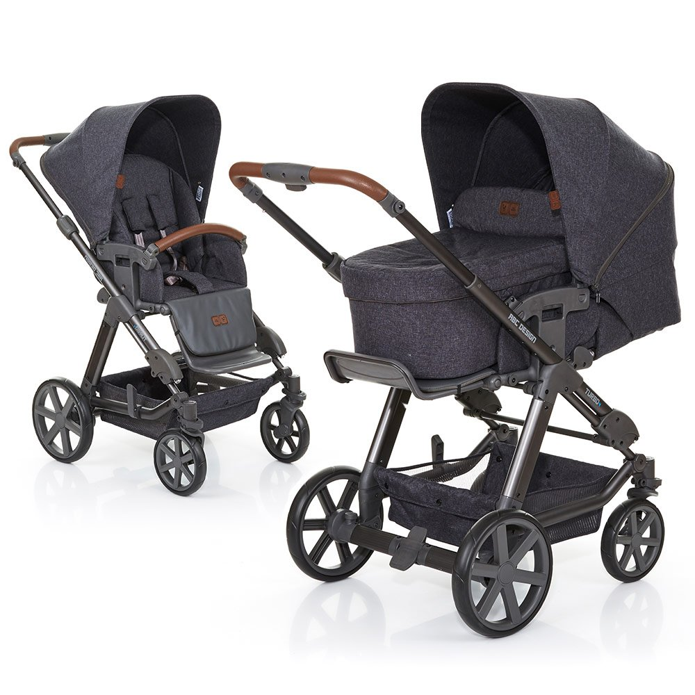 ABC Design Kombi-Kinderwagen Turbo 4 - Street 61289 702