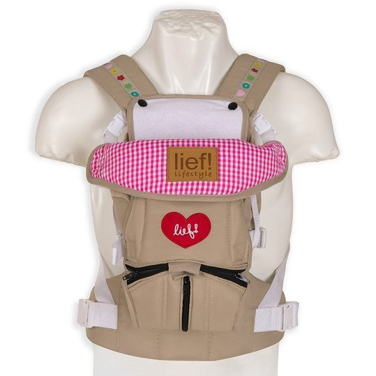 Babytrage 3-Way Carrier - Lief Girl