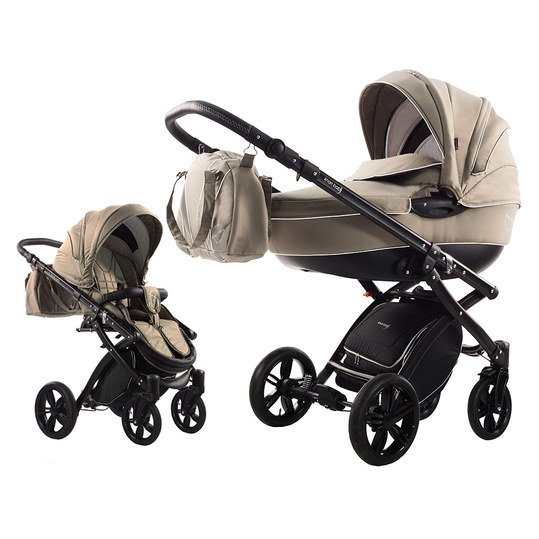 Kombi-Kinderwagen Alive Born to Ride - Beige