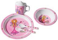 5-piece Eating & Drinking Set - Princess
