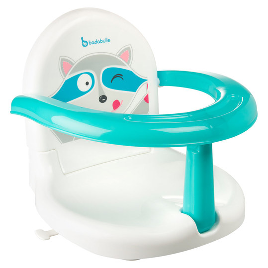 Baby bath seat foldable - Coon - White Blue