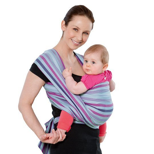 Tragetuch Carry Sling Silver Line 450 cm - Mystic