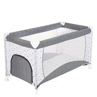 Travel bed - starlet grey