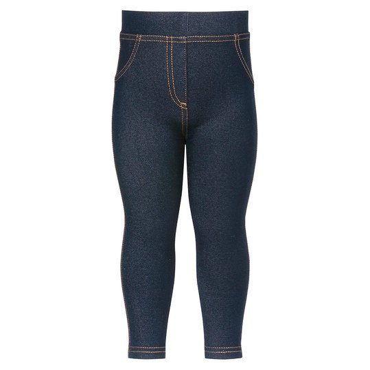 Leggings Jeans-Optik - Blau - Gr. 74 / 80