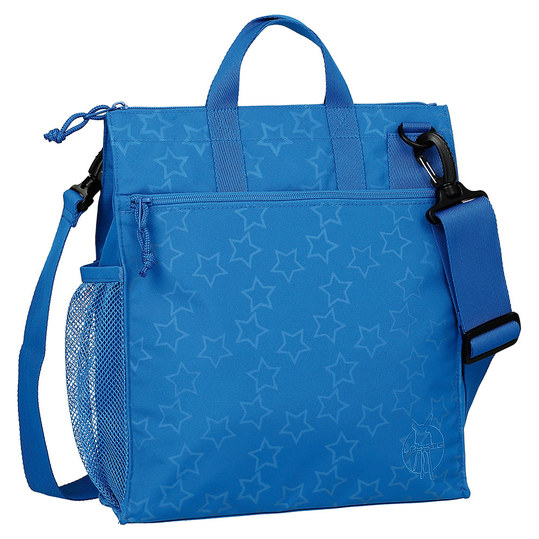 Wickeltasche Casual Buggy Bag - Reflective Star - Blue