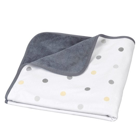 Cotton blanket Baby Dream 75 x 75 cm - Pop Grey