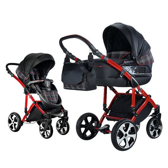 knorr baby buggy volkswagen gti schwarz rot. Black Bedroom Furniture Sets. Home Design Ideas