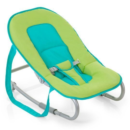 Babywippe Lounger - Petrol Lime