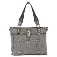 Wickeltasche Baby 2 Rock - Grey Melange