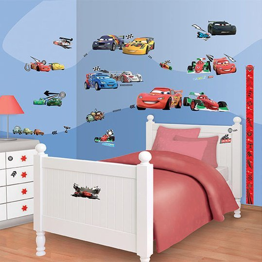 78-tlg. Wandaufkleber-Set - Disney Cars